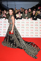 Faye Brookes at the National TV Awards 2017 held at the O2 Arena, Greenwich, London. <br /> 25th January  2017<br /> Picture: Steve Vas/Featureflash/SilverHub 0208 004 5359 sales@silverhubmedia.com