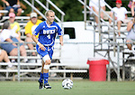 07 October 2007: Duke's Gretchen Miller. The Duke University Blue Devils defeated the North Carolina State University Wolfpack 1-0 at Method Road Soccer Stadium in Raleigh, North Carolina in an Atlantic Coast Conference NCAA Division I Women's Soccer game.