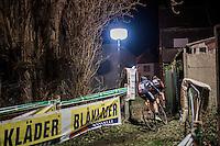 back-alley cyclocross<br /> <br /> Elite Men's race<br /> Superprestige Diegem 2016