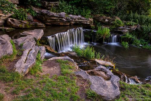 Cascade, Parc de Woluwé, Belgium