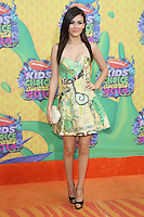 Victoria Justice<br /> at Nickelodeon's 27th Annual Kids' Choice Awards, USC Galen Center, Los Angeles, CA 03-29-14<br /> David Edwards/DailyCeleb.Com 818-249-4998