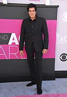 David Copperfield at the Academy of Country Music Awards 2017 at the T-Mobile Arena, Las Vegas, NV, USA 02 April  2017<br /> Picture: Paul Smith/Featureflash/SilverHub 0208 004 5359 sales@silverhubmedia.com
