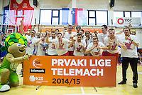 20150528: SLO, Basketball - Slovenian National Championship 2014/15, Finals, KK Tajfun vs KK Rogaska
