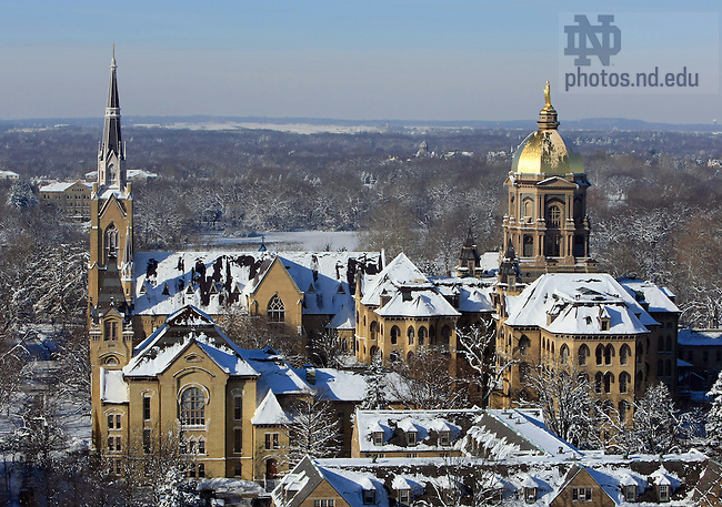 Winter Scenic 16.jpg | University of Notre Dame Photography