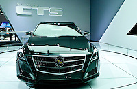 A Cadillac is seen  at the 2013 New York International Auto Show in New York March 27, 2013. The 113th New York International Auto Show, which runs from March 29 to April 7, features 1,000 vehicles as well the latest in tech, safety and innovation.  .VIEWpress /Kena Betancur