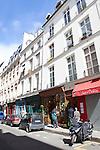 Rue Saint-Louis en L'ile, Ile Saint-Louis, Paris, France, Europe