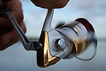fishing pole spinning reel