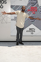 LOS ANGELES, CA - JUNE 26: Jackie Long at the 2016 BET Awards at the Microsoft Theater on June 26, 2016 in Los Angeles, California. Credit: David Edwards/MediaPunch