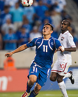 El Salvador forward Rodolfo Zelaya (11) during a CONCACAF Gold Cup group B match at Red Bull Arena in Harrison, NJ, on July 8, 2013.