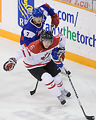 Martin Bakos (Slovakia - 7), Ryan Ellis (Canada - 6) - Team Canada defeated Team Slovakia 8-2 on Tuesday, December 29, 2009, at the Credit Union Centre in Saskatoon, Saskatchewan, during the 2010 World Juniors tournament.
