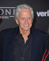 Actor Michael Douglas at the world premiere of &quot;Rogue One: A Star Wars Story&quot; at The Pantages Theatre, Hollywood. <br /> December 10, 2016<br /> Picture: Paul Smith/Featureflash/SilverHub 0208 004 5359/ 07711 972644 Editors@silverhubmedia.com