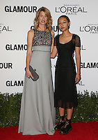 LOS ANGELES, CA - NOVEMBER 14: Laura Dern and Harris Harper at  Glamour's Women Of The Year 2016 at NeueHouse Hollywood on November 14, 2016 in Los Angeles, California. Credit: Faye Sadou/MediaPunch