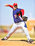 1 March 2010: Washington Nationals' relief pitcher Matt Capps on the mound during Spring Training at the Carl Barger Baseball Complex in Viera, Florida. Mandatory Credit: Ed Wolfstein Photo