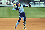 25 April 2016: North Carolina's Kristen Brown. The University of North Carolina Tar Heels hosted the University of Notre Dame Fighting Irish at Anderson Stadium in Chapel Hill, North Carolina in a 2016 NCAA Division I softball game. UNC won the game 7-6.