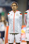 16 October 2014: Bianca Sierra (MEX). The Mexico Women's National Team played the Costa Rica Women's National Team at Sporting Park in Kansas City, Kansas in a 2014 CONCACAF Women's Championship Group B game, which serves as a qualifying tournament for the 2015 FIFA Women's World Cup in Canada. Costa Rica won the game 1-0.