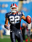 3 September 2009:  Buffalo Bills' running back Fred Jackson warms up prior to a pre-season game against the Detroit Lions at Ralph Wilson Stadium in Orchard Park, New York. The Lions defeated the Bills 17-6...Mandatory Photo Credit: Ed Wolfstein Photo