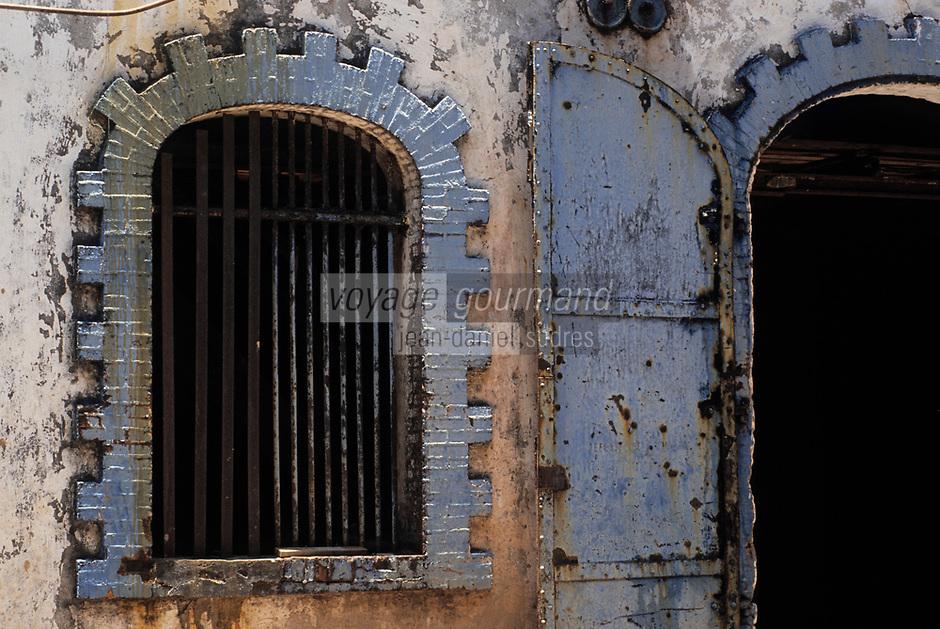 France/DOM/Martinique/Sainte-Marie/Distillerie Saint-James: Détail des bâtiments de la distillerie