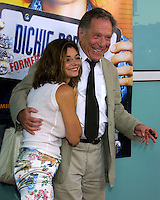"©2003 KATHY HUTCHINS / HUTCHINS PHOTO.WORLD PREMIERE OF ""DICKIE ROBERTS:FORMER CHILD STAR"".BENEFITING THE CHRIS FARLEY FOUNDATION.CINERAMA DOME.LOS ANGELES, CA.SEPTEMBER 3, 2003..LAURA SANGIACOMA AND GEORGE SEGAL"