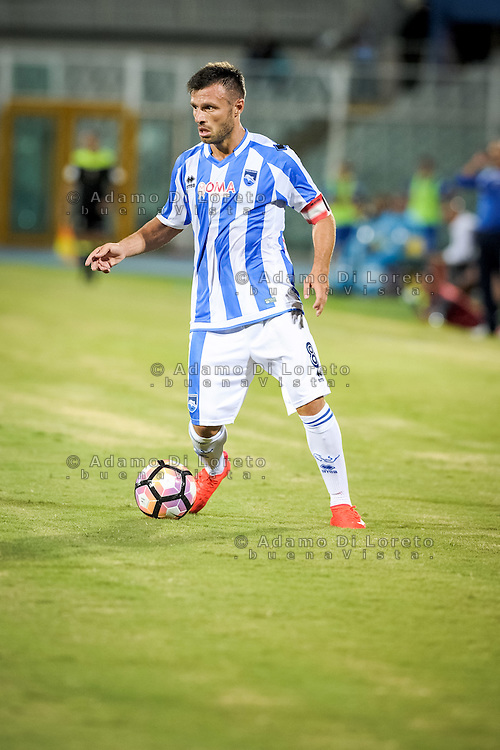Memushaj Ledian (PESCARA) during the Italian Cup - TIM CUP -match between Pescara vs Frosinone, on August 13, 2016. Photo: Adamo Di Loreto/BuenaVista*photo