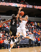 Virginia women's basketball player Britnee Millner