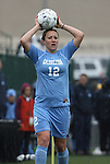 06 December 2009: North Carolina's Lucy Bronze (ENG). The University of North Carolina Tar Heels defeated the Stanford University Cardinal 1-0 at Aggie Soccer Stadium in College Station, Texas in the NCAA Division I Women's College Cup Championship game.