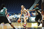 Ole Miss Lady Rebels' Maggie McFerrin (14) vs. Mississippi Valley State at the C.M. &quot;Tad&quot; Smith Coliseum in Oxford, Miss. on Tuesday, November 27, 2012.