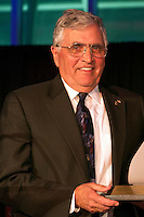 Feb. 27, 2013 - Garden City, New York, U.S. -  HARRISON H. SCHMITT, Apollo 17 Astronaut and former U.S. Senator, receives the Spirit of Discovery Award, at the 10th Annual Cradle of Aviation Museum Air & Space Gala, celebrating the 40th Anniversary of Apollo 17.