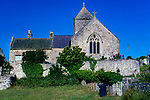 Europe, United Kingdom, Wales, Anglesey. Penmon Priory, site of St. Seiriol's church, cell, well and dovecot.