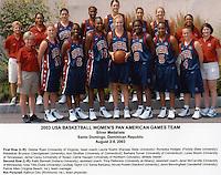 2 August 2003: USA Basketball Women's Pan American Games Team: Nicole Powell.