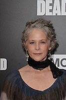 HOLLYWOOD, CA - OCTOBER 23: Melissa McBride at AMC Presents Live, 90-Minute Special Edition of 'Talking Dead' at Hollywood Forever on October 23, 2016 in Hollywood, California. Credit: David Edwards/MediaPunch