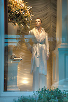 Ralph Lauren, Beverly Hills CA; Rodeo Drive; Window Mannequin, Luxury Street Shopping , Vertical image