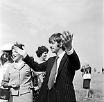 Beatles 1967 Ringo Starr filming Magical Mystery Tour on Bodmin Moor<br /> &copy; Chris Walter