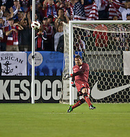 CARSON, CA – JANUARY 22: USA goalie Nick Rimando (18) during the international friendly match between USA and Chile at the Home Depot Center, January 22, 2011 in Carson, California. Final score USA 1, Chile 1.