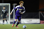 20 November 2014: James Madison's Callum Hill. The University of North Carolina Tar Heels hosted the James Madison University Dukes at Fetzer Field in Chapel Hill, NC in a 2014 NCAA Division I Men's Soccer Tournament First Round match. UNC won the game 6-0.