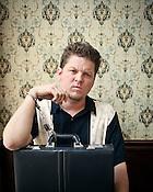 "Eryk Pruitt, writer of the film ""Foodie,"" Capital Club 16, Raleigh,"
