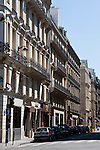 around boulevard malesherbes Paris France in May 2008