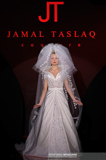 Palestine fashion designer jamal taslaq featured at rome Rome fashion designers