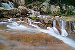 Giant Steps Waterfall, Banff National Park, Alberta, Canada
