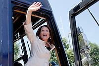 Republican presidential hopeful Michele Bachmann campaigns at Palmer's Deli on Wednesday, July 20, 2011 in West Des Moines, IA.