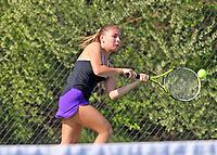 Girls Tennis vs. Carmel 4-18-17