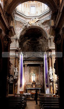 Church of San Matteo al Cassaro, Palermo, Sicily, italy