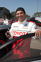 Carlos Mencia at  the 33rd Annual Toyota Pro/Celeb Race Press Day at the Grand Prix track in Long Beach, CA on April 7, 2009.©2009 Kathy Hutchins / Hutchins Photo....                .
