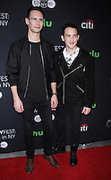 NEW YORK, NY-October 19:Cory Michael Smith, Robin Lord Taylor at PaleyFest New York presents Gotham at the Paley Center for Media in New York.October 19, 2016. Credit:RW/MediaPunch