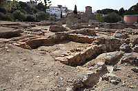 The Thermal Baths; Villa of El Munts; Between First and middle of Second Century AD, Tarragona (Tarraco, Hispania Citerior), Catalonia, Spain; one of the largest built on a hill overlooking the coast, only 12 km from Tarragona (Tarraco).
