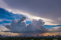 Massive Cloud Cell near Manila during the onset of the Monsoon Season, Philippines
