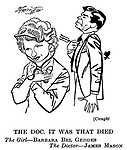 Caught; Barbara Bel Geddes and James Mason
