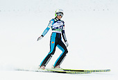 TEPES Anja of Slovenia competes during 11th Women FIS Ski Jumping World Cup competition in Planica replacing Ljubno  on January 25, 2014 at HS95, Planica, Slovenia. Photo by Vid Ponikvar / Sportida