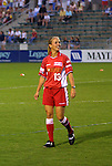 18 June 2003: Heather Mitts of the Philadelphia Charge. The WUSA All-Star Skills Competition was held at SAS Stadium in Cary, NC.