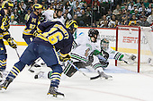 110407-University of Michigan Wolverines vs University of North Dakota Fighting Sioux