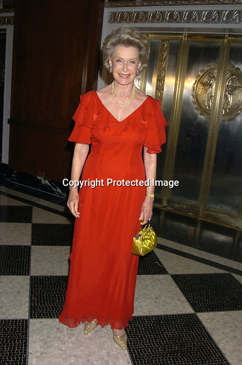Dina Merrill ..at The 30th Anniversary of The New Yorker for New York Awards on February 14, 2005 at The Waldorf Astoria Hotel...Photo by Robin Platzer, Twin Images